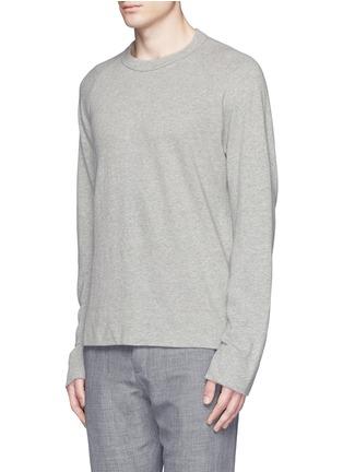 Front View - Click To Enlarge - James Perse - Vintage fleece sweatshirt