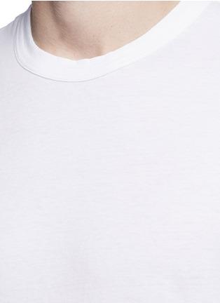Detail View - Click To Enlarge - James Perse - Crew neck cotton slub jersey T-shirt