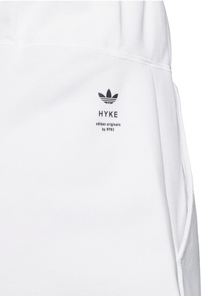 Detail View - Click To Enlarge - ADIDAS X HYKE - 'HY' elastic waist wide leg pants