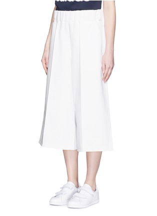 Front View - Click To Enlarge - ADIDAS X HYKE - 'HY' elastic waist wide leg pants