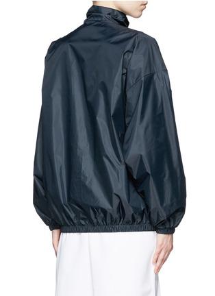 Back View - Click To Enlarge - ADIDAS X HYKE - 'HY Windbreaker' batwing sleeve jacket
