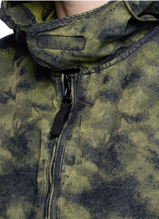 Detail View - Click To Enlarge - Stone Island - 'DPM Jacquard Plated' camouflage print hooded jacket