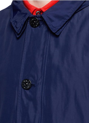Detail View - Click To Enlarge - Stone Island - 'Micro Reps' hood coat