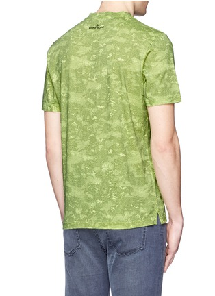Back View - Click To Enlarge - Stone Island - 'DPM Camouflage' print T-shirt