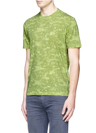 Front View - Click To Enlarge - Stone Island - 'DPM Camouflage' print T-shirt