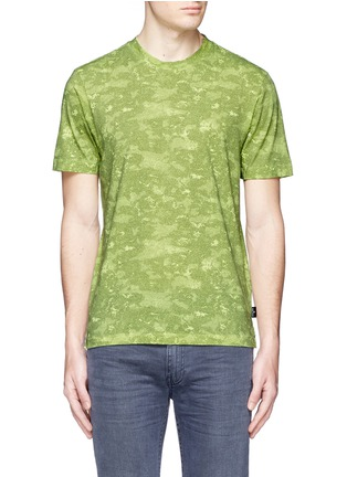Main View - Click To Enlarge - Stone Island - 'DPM Camouflage' print T-shirt