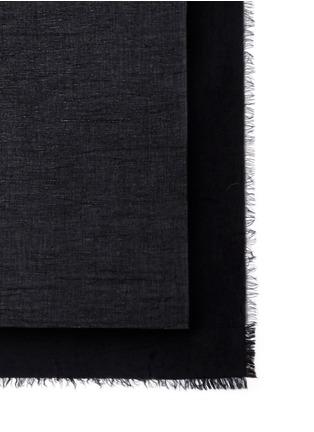 Detail View - Click To Enlarge - Faliero Sarti - 'Coco' metallic accent modal-silk scarf