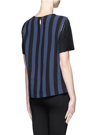 Back View - Click To Enlarge - SANDRO - Eveil multi-stripe top
