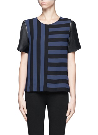 Main View - Click To Enlarge - SANDRO - Eveil multi-stripe top