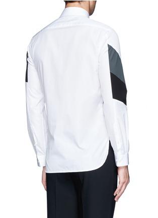 Back View - Click To Enlarge - NEIL BARRETT - Thunderbolt print shirt