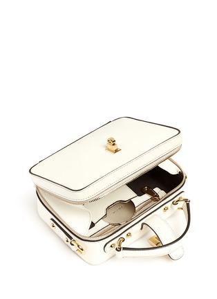 Detail View - Click To Enlarge - Dolce & Gabbana - 'Dolce Soft' drummed calfskin leather bag
