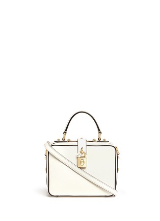 Main View - Click To Enlarge - Dolce & Gabbana - 'Dolce Soft' drummed calfskin leather bag