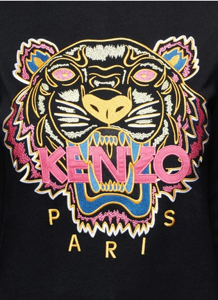 Detail View - Click To Enlarge - KENZO - 'Tiger' embroidery sweatshirt