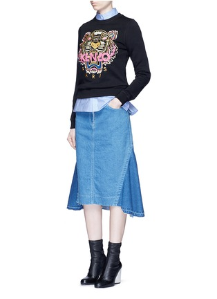 Figure View - Click To Enlarge - KENZO - 'Tiger' embroidery sweatshirt