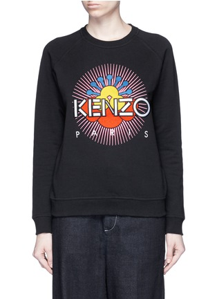 Main View - Click To Enlarge - KENZO - 'Nagai Star' embroidery sweatshirt