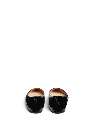 Back View - Click To Enlarge - Jimmy Choo - 'Romy' patent leather flats