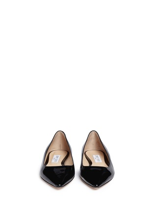 Front View - Click To Enlarge - Jimmy Choo - 'Romy' patent leather flats
