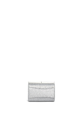 Main View - Click To Enlarge - Jimmy Choo - 'Cate' bar clasp glitter mesh clutch