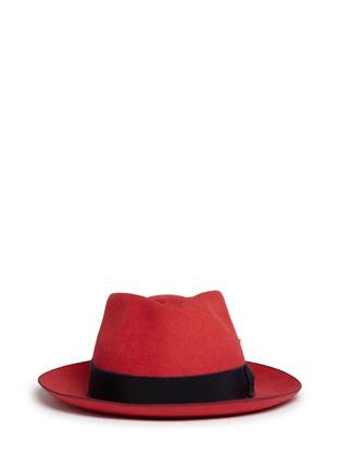 Main View - Click To Enlarge - My Bob - 'Knut Whip' rabbit furfelt hat