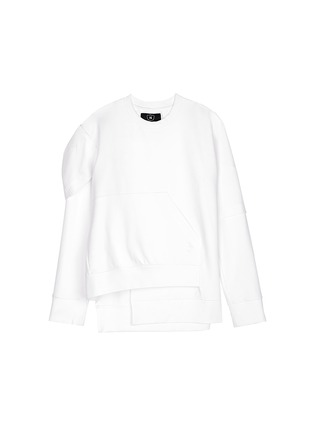Main View - Click To Enlarge - NICOPANDA - Deconstructed sweatshirt