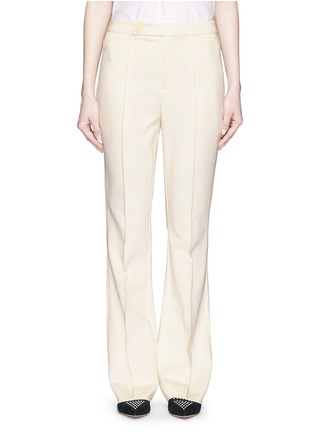 Main View - Click To Enlarge - MO&CO. EDITION 10 - Tailored bell bottom flare pants