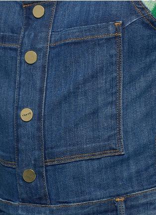 Detail View - Click To Enlarge - Frame Denim - 'Le High' denim overalls