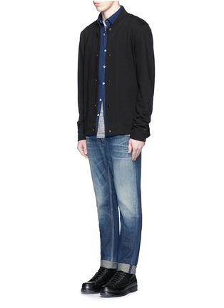 Figure View - Click To Enlarge - DENHAM - 'Bolt' skinny jeans