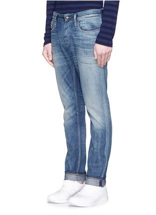 Front View - Click To Enlarge - DENHAM - 'Razor' slim fit jeans