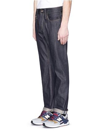 Front View - Click To Enlarge - DENHAM - 'Razor' selvedge jeans