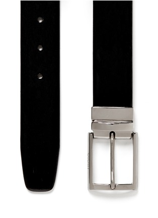 Detail View - Click To Enlarge - ISAIA - Reversible leather belt