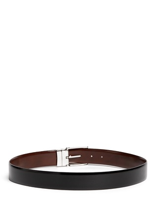 Back View - Click To Enlarge - ISAIA - Reversible leather belt