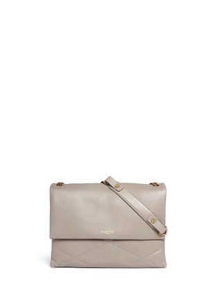 Main View - Click To Enlarge - Lanvin - 'Sugar' medium quilted leather flap bag