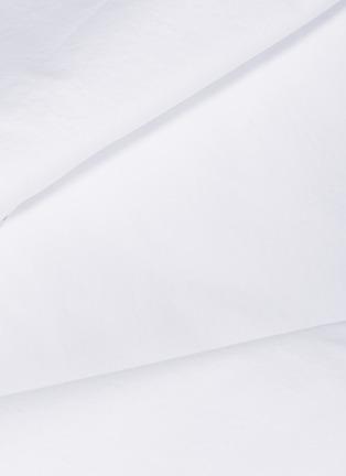 - SOCIETY LIMONTA - Nite king size cotton duvet cover –White