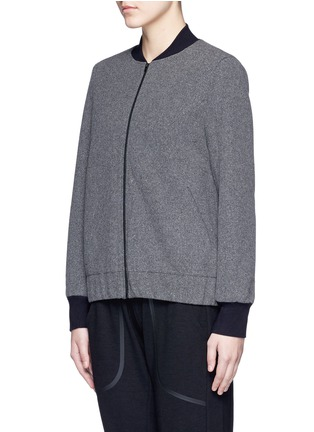 Front View - Click To Enlarge - 72883 - 'Scout' climate control felt bomber jacket