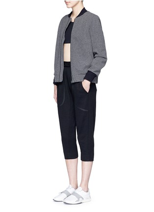 Figure View - Click To Enlarge - 72883 - 'Scout' climate control felt bomber jacket