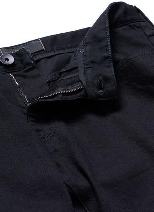 - ARMANI COLLEZIONI - Slim fit solid cotton denim jeans