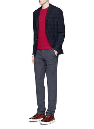 Figure View - Click To Enlarge - Armani Collezioni - Slim fit cotton T-shirt