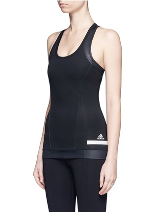 Front View - Click To Enlarge - Adidas By Stella Mccartney - 'The Performance' tech jersey tank top
