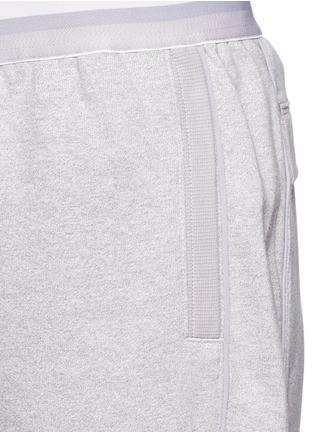 Detail View - Click To Enlarge - Adidas By Stella Mccartney - 'ESS' elastic waist organic cotton blend sweatpants