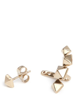 Detail View - Click To Enlarge - Valentino - Stud single earring