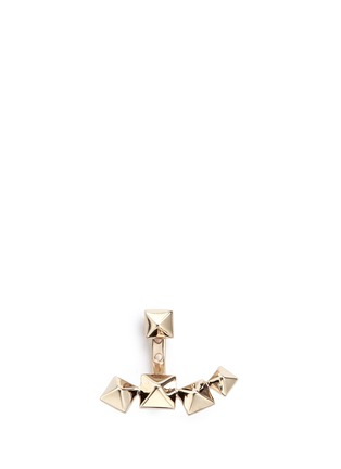 Main View - Click To Enlarge - VALENTINO - Stud single earring