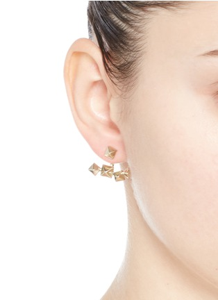Figure View - Click To Enlarge - VALENTINO - Stud single earring