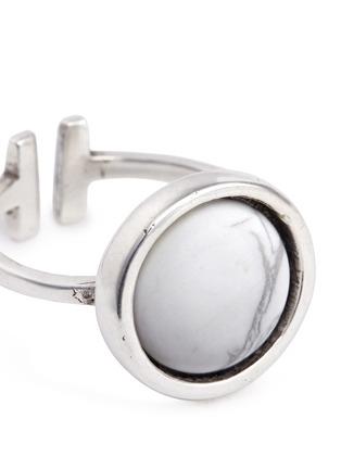 Detail View - Click To Enlarge - Philippe Audibert - 'Lozzi' round stone ring