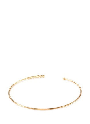 Figure View - Click To Enlarge - Mizuki - Diamond 14k gold cuff