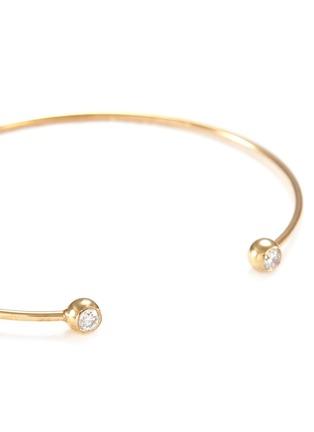 Detail View - Click To Enlarge - Mizuki - Diamond 14k gold cuff