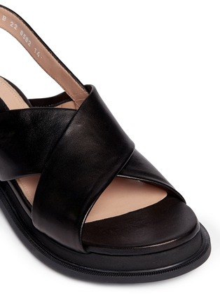 Detail View - Click To Enlarge - Robert Clergerie - 'Caliente' lamb leather sandals