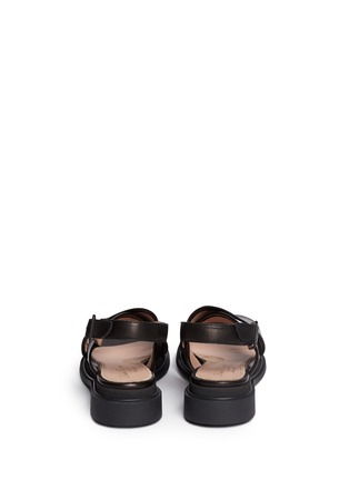 Back View - Click To Enlarge - Robert Clergerie - 'Caliente' lamb leather sandals