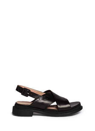 Main View - Click To Enlarge - Robert Clergerie - 'Caliente' lamb leather sandals