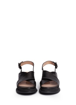 Figure View - Click To Enlarge - Robert Clergerie - 'Caliente' lamb leather sandals