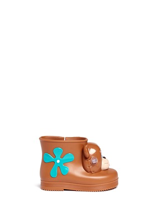 Main View - Click To Enlarge - Melissa - x Jeremy Scott 'Monkey' inflation appliqué toddler boots